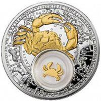 Аверс монеты «Рак»
